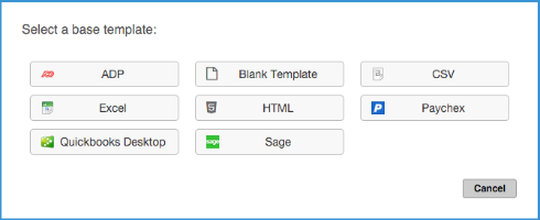 What are integration templates? – Fareclock Support